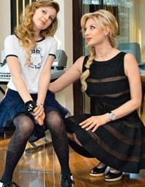 Инна Михайлова с дочерью